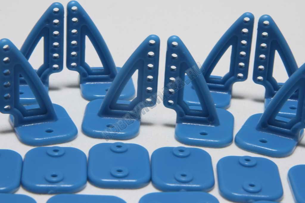 Кабанчики 18x27 (6 отв) - Голубые (10 штук)