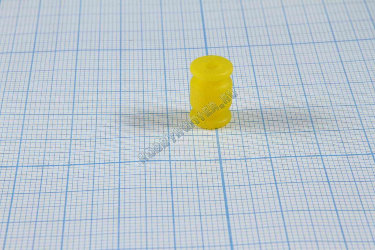 Виброгаситель 9x13x3 (Желтый)
