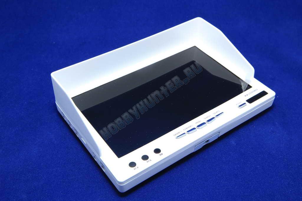 Монитор RX-LCD5802 5.8 32CH Diversity 7' 800x480 со встроенным аккумулятором (белый)