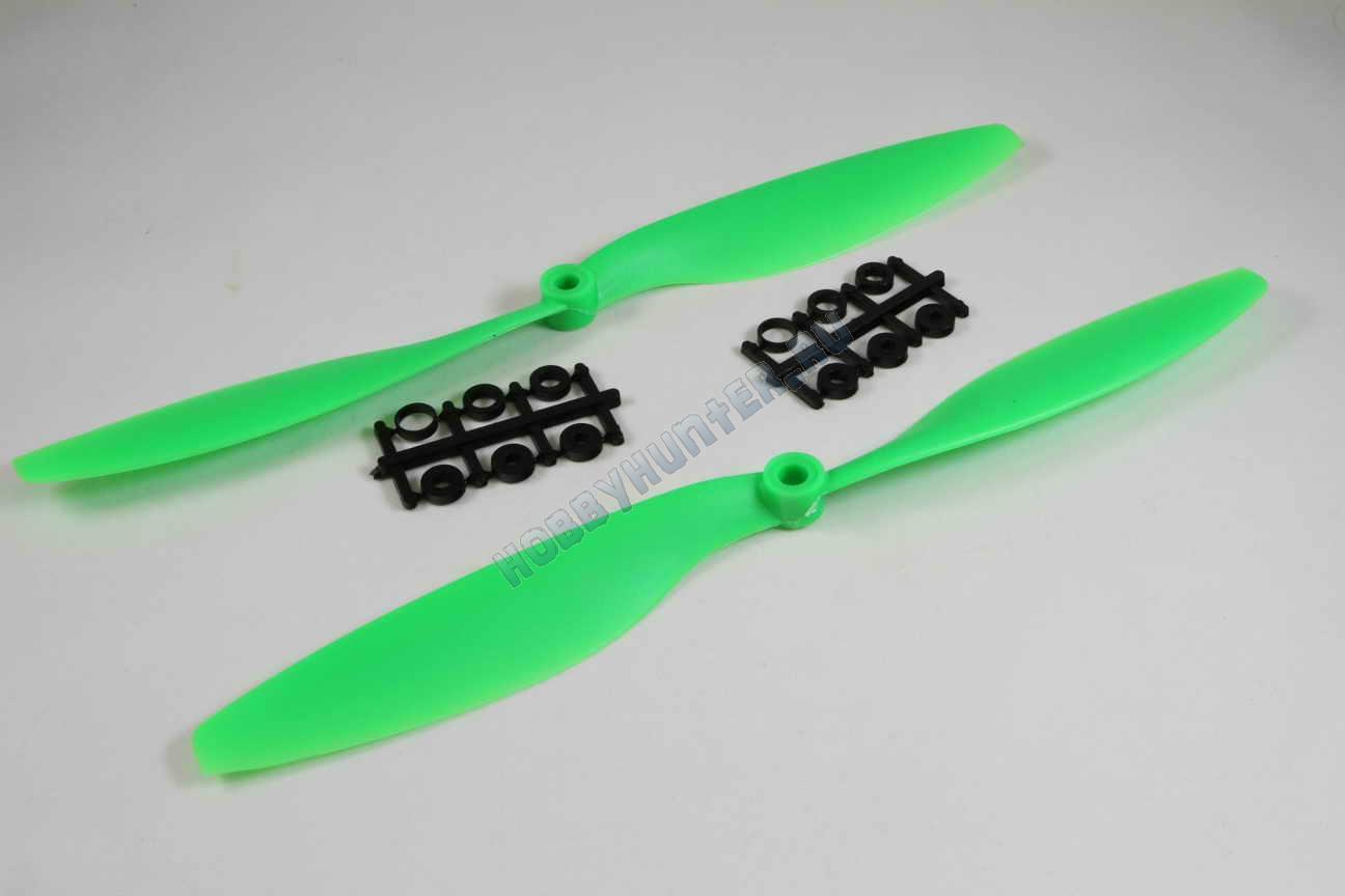 Пропеллер 1045 + 1045R (Зеленые)