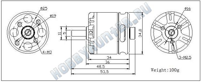 DYS BE2814-5 (1400KV)