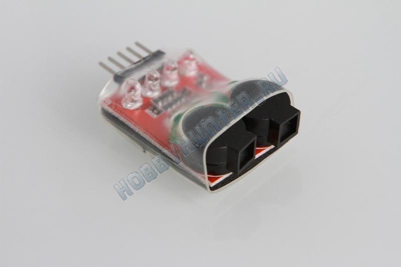 Сигнализатор разряда 2S,3S,4S аккумулятора